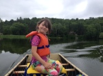 Melody Driving Canoe Summer 2016