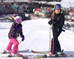 Melody and Hope Together at Tremblant March 2016